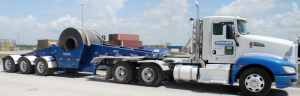 Adams Industries COIL TRAILER SEMI TRUCK
